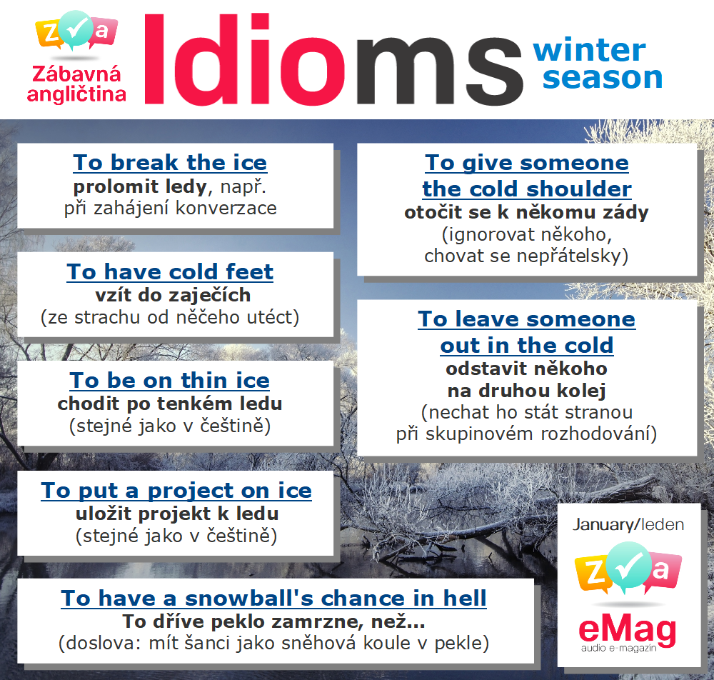 English Winter Idioms